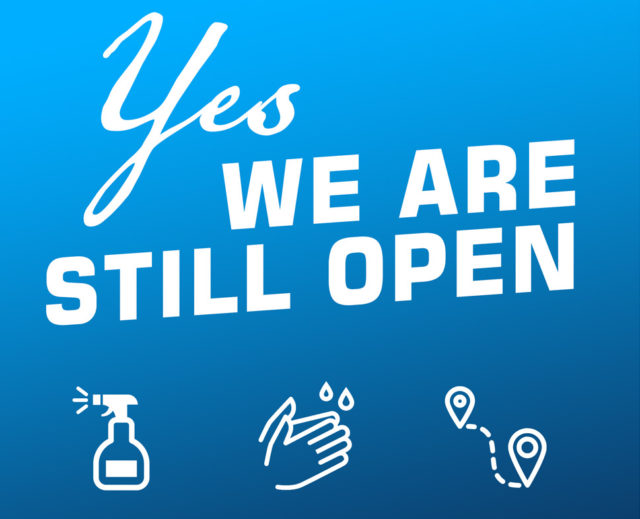 Yes We're Still Open
