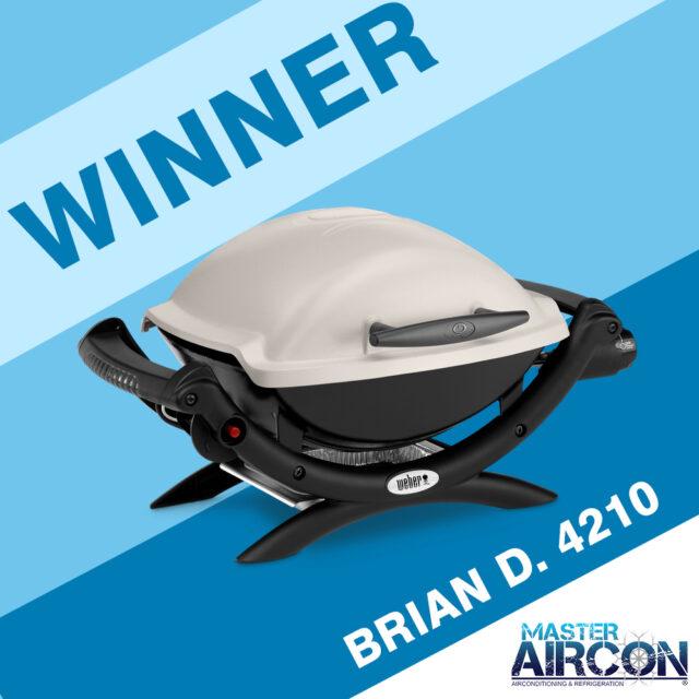 Winner BBQ Giveaway 2020